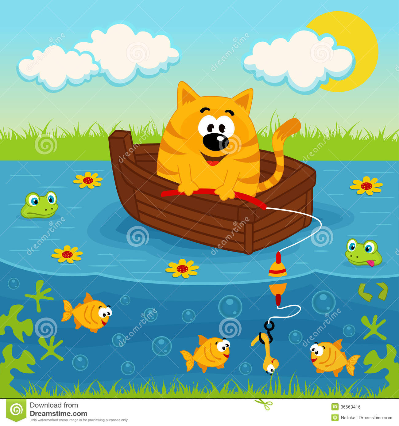 how to make a pond boat