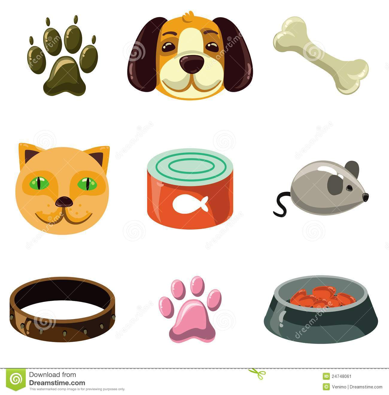 Cat Things Or Toys Cartoon