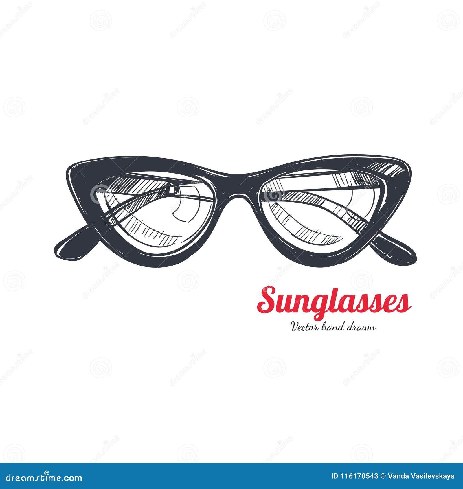 3a216c28f31 Cat eye glasses vector stock vector. Illustration of elegant - 116170543