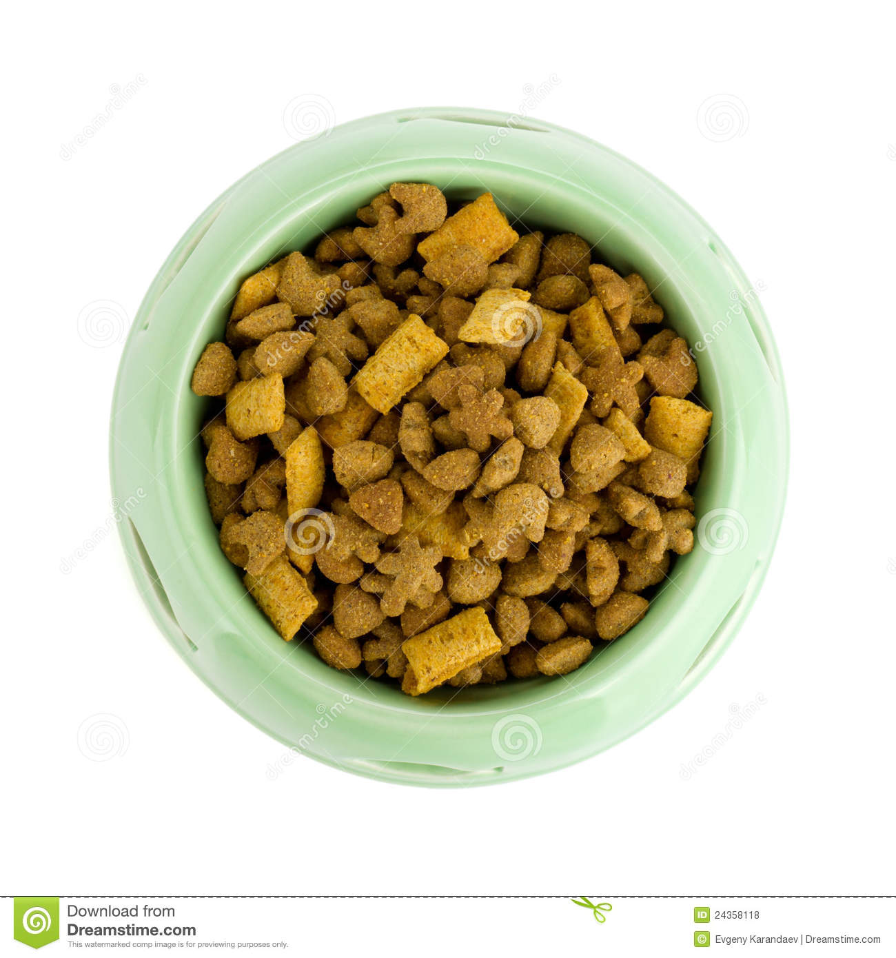 royaltyfree stock photo download cat food in a bowl