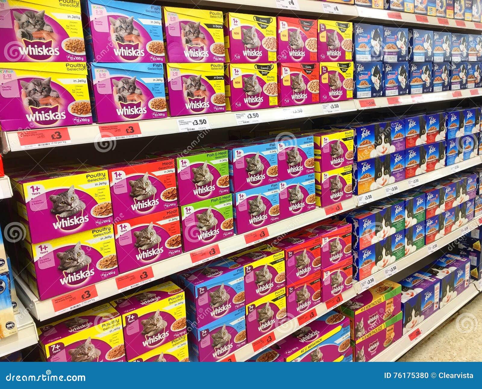 Sainsbury S Cat Food Prices