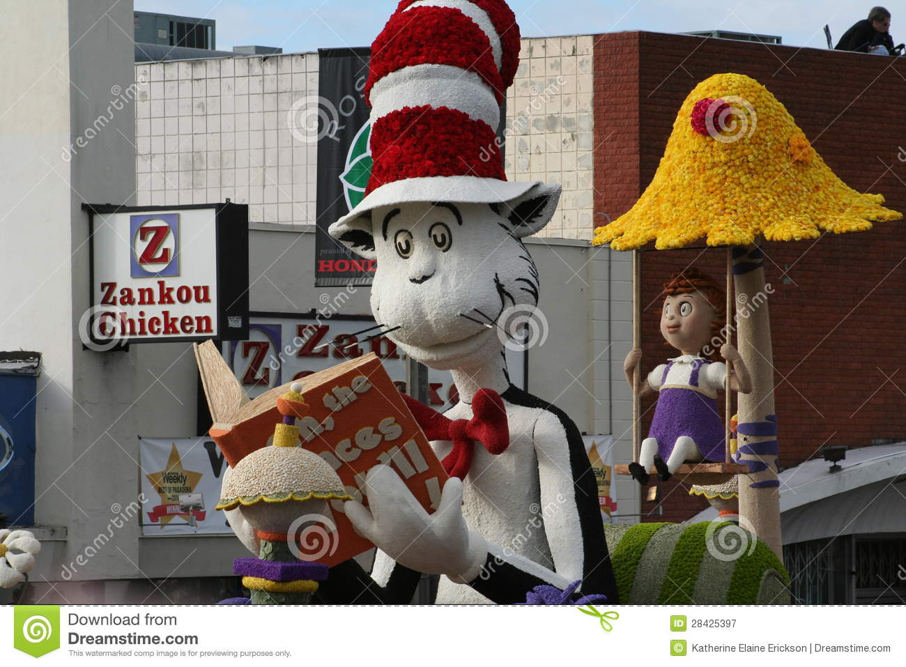 cat in the hat editorial photography image 28425397