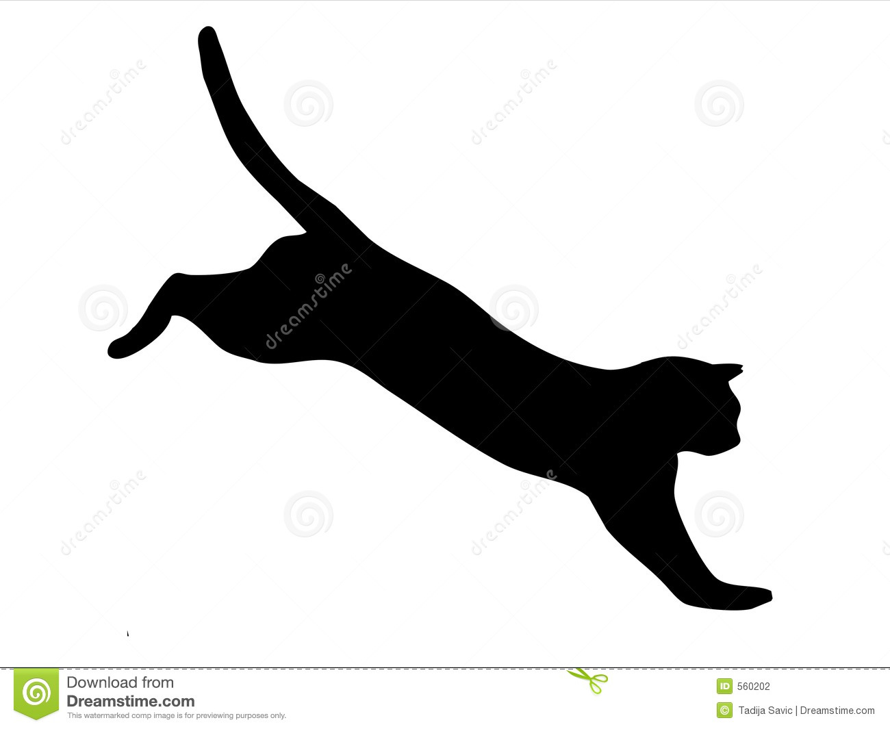 Cat Jumping Stock Photography - Image: 560202