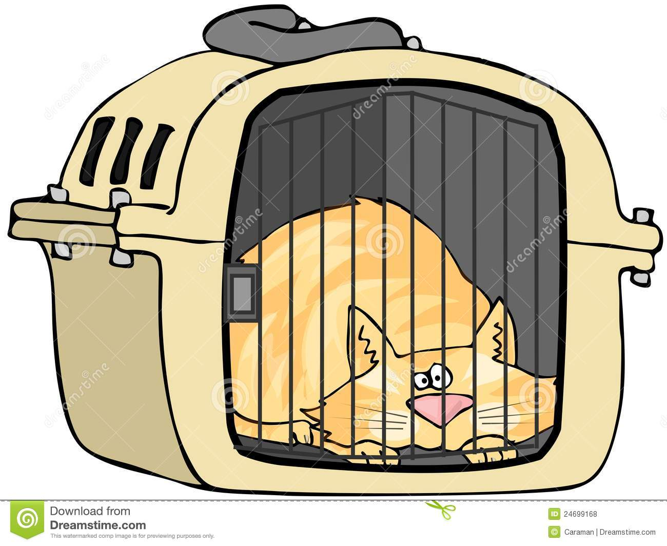 cat cage clipart - photo #1