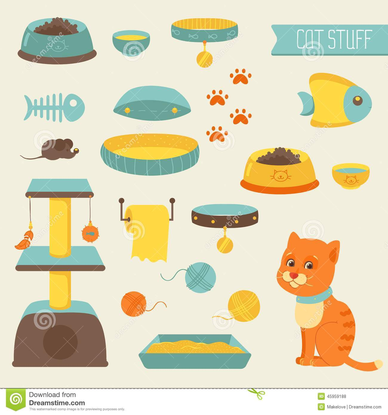 clipart cat toys - photo #27