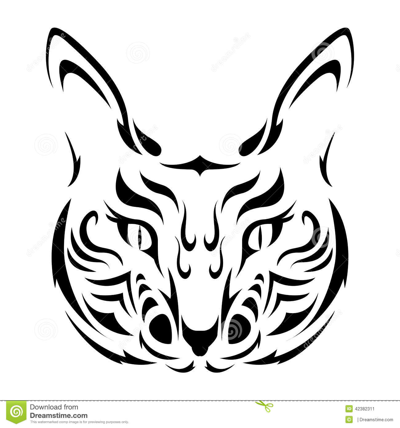 Tribal cat tattoo pictures Cached