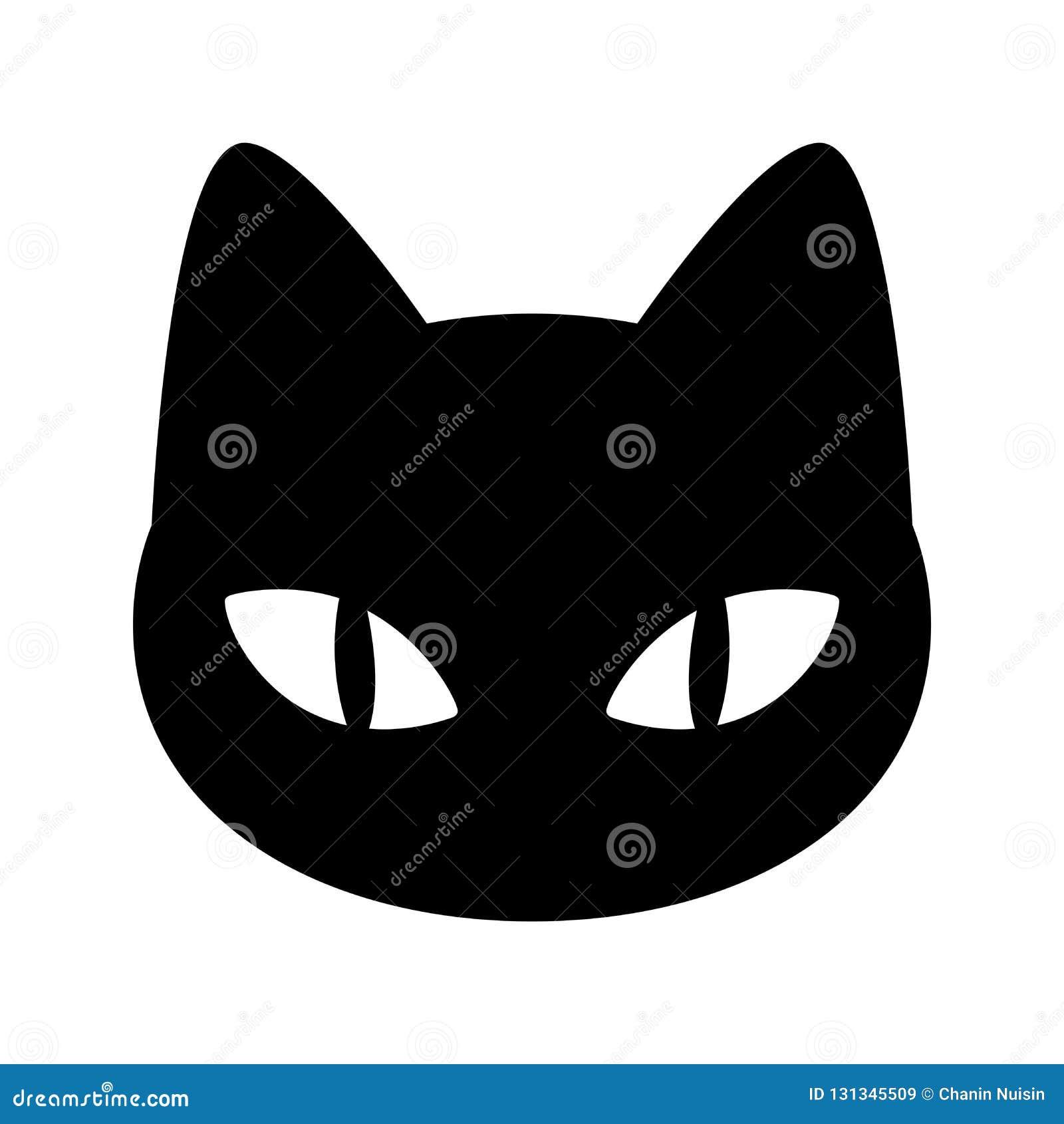 Cat Vector Kitten Calico Icon Logo Cartoon Illustration Halloween