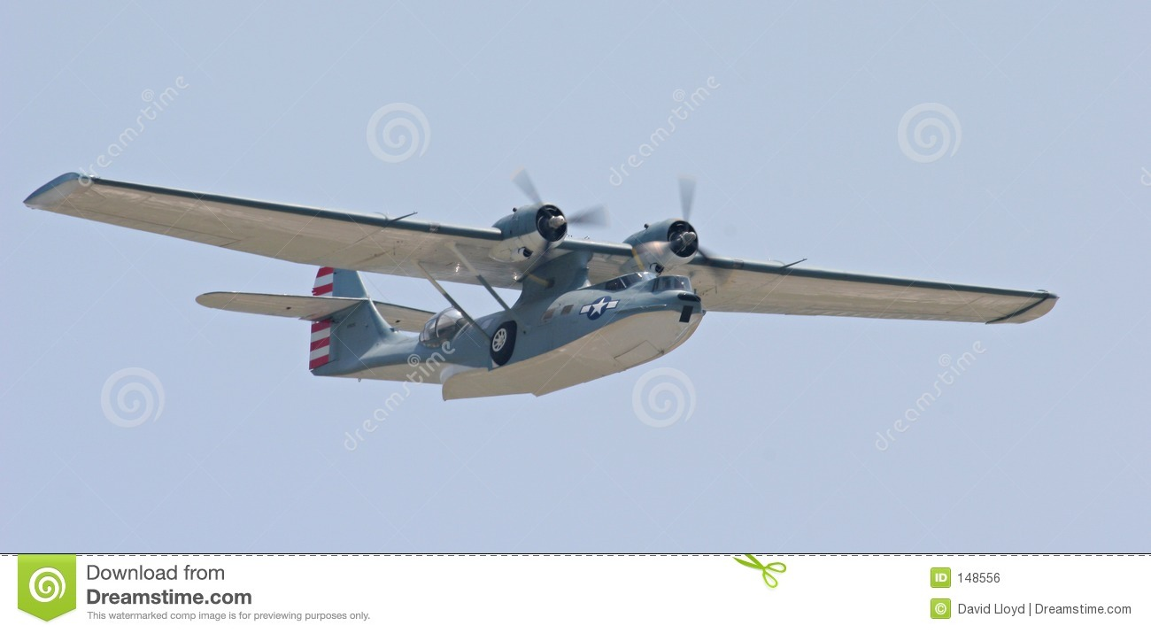 Catalina Flying Boat Royalty Free Stock Image - Image: 148556