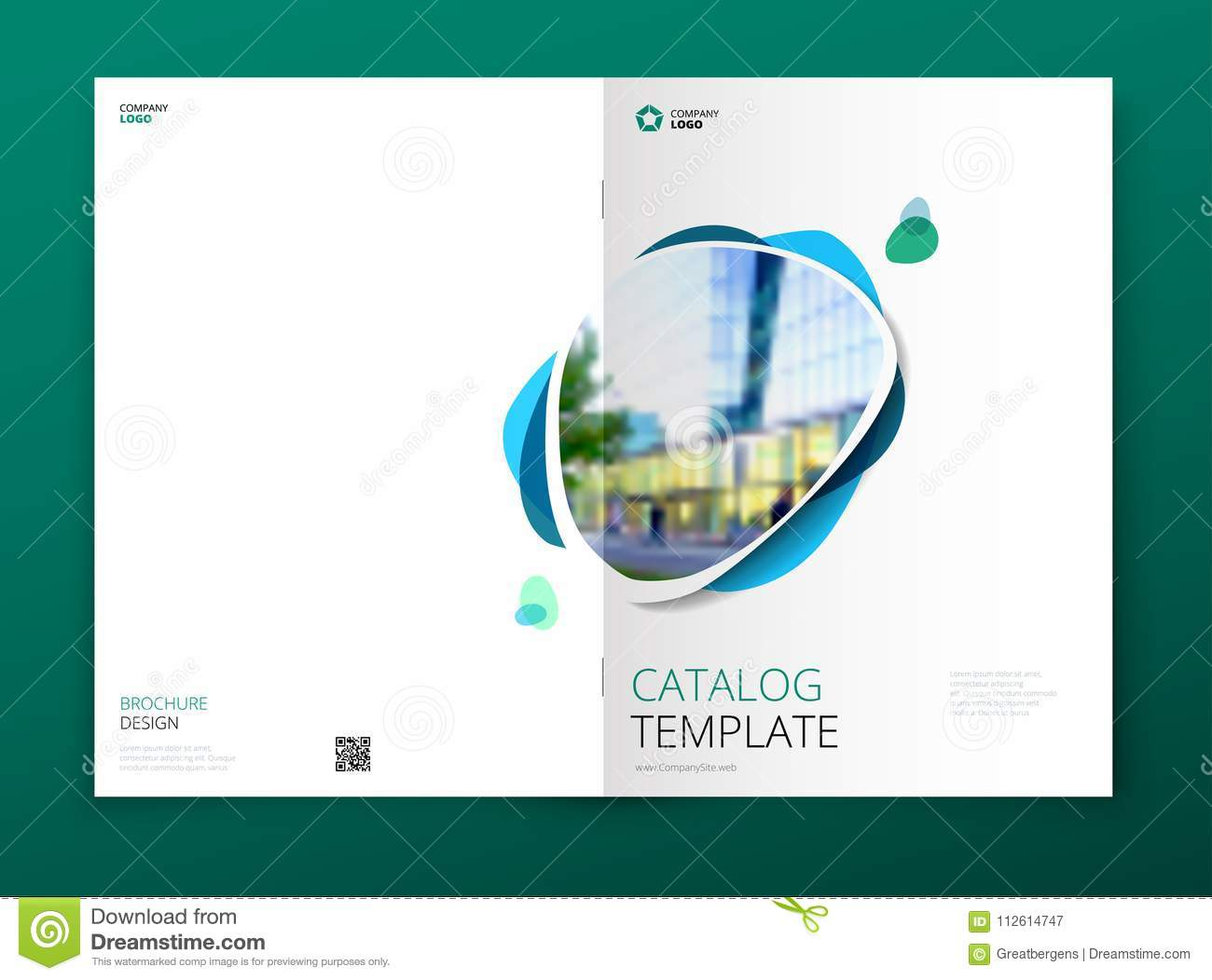 Catalog Cover Design Corporate Business Brochure Annual Report