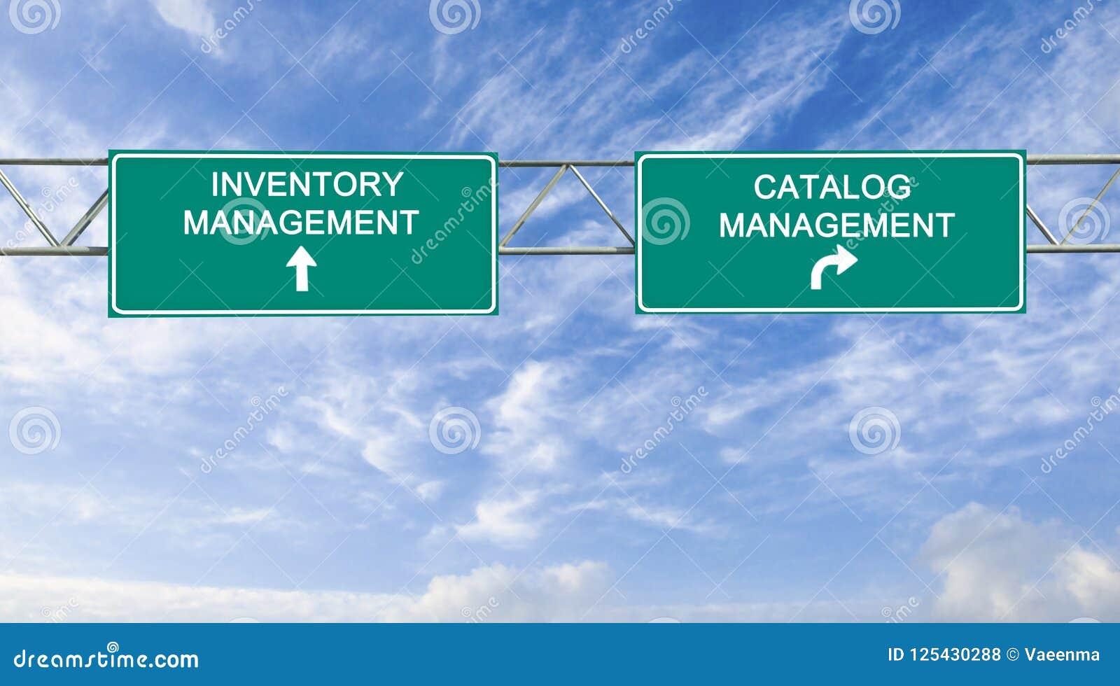 Catalogue et gestion des stocks
