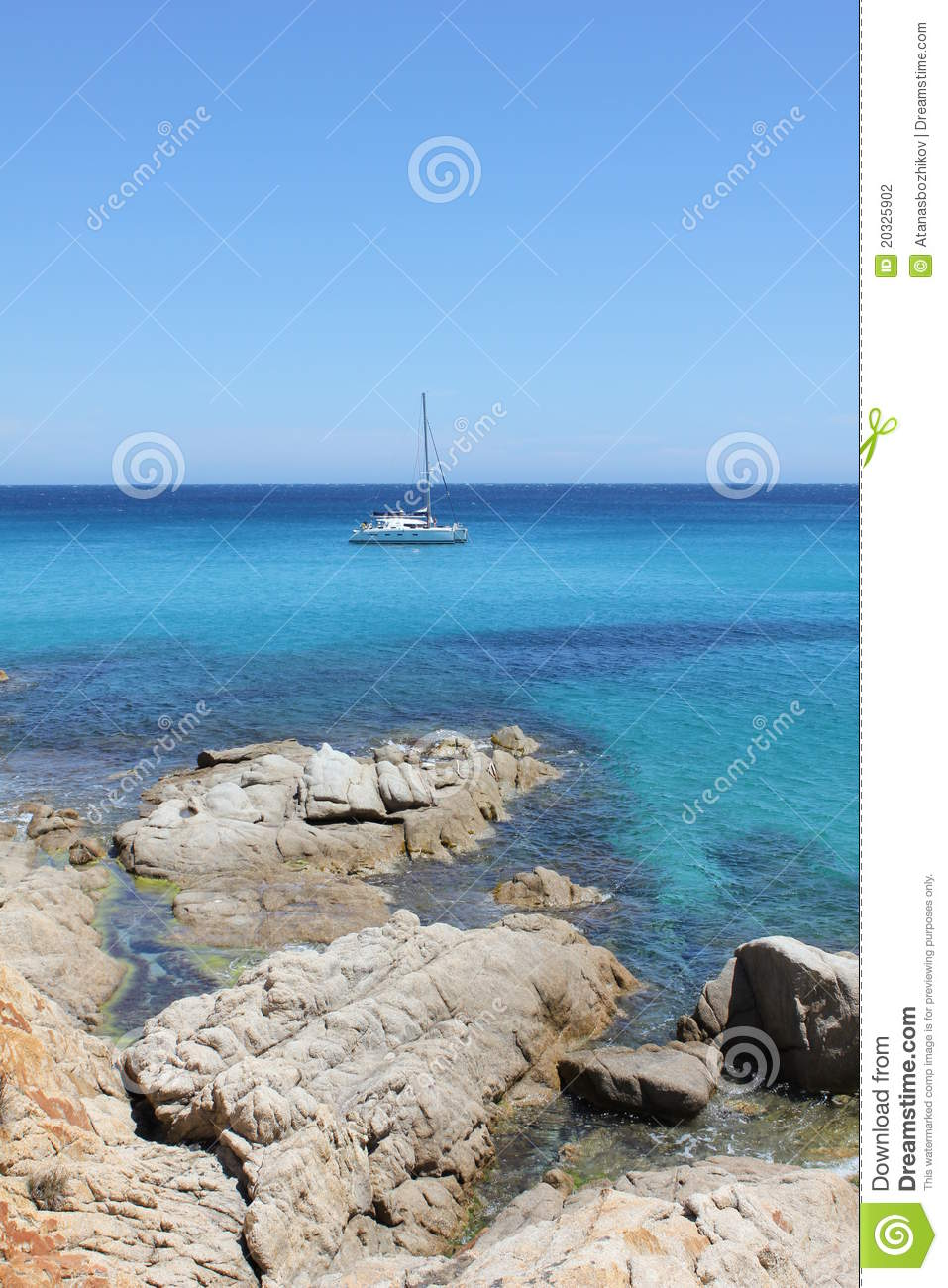 catamaran in antibes on the french riviera stock photography image 20325902. Black Bedroom Furniture Sets. Home Design Ideas