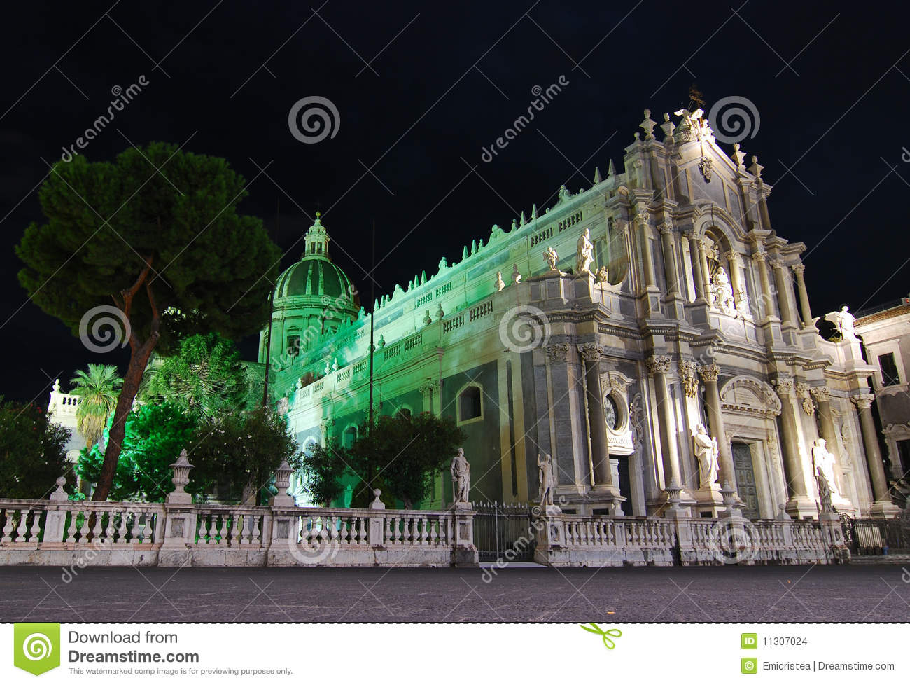 Catania-Kathedrale/Sizilien