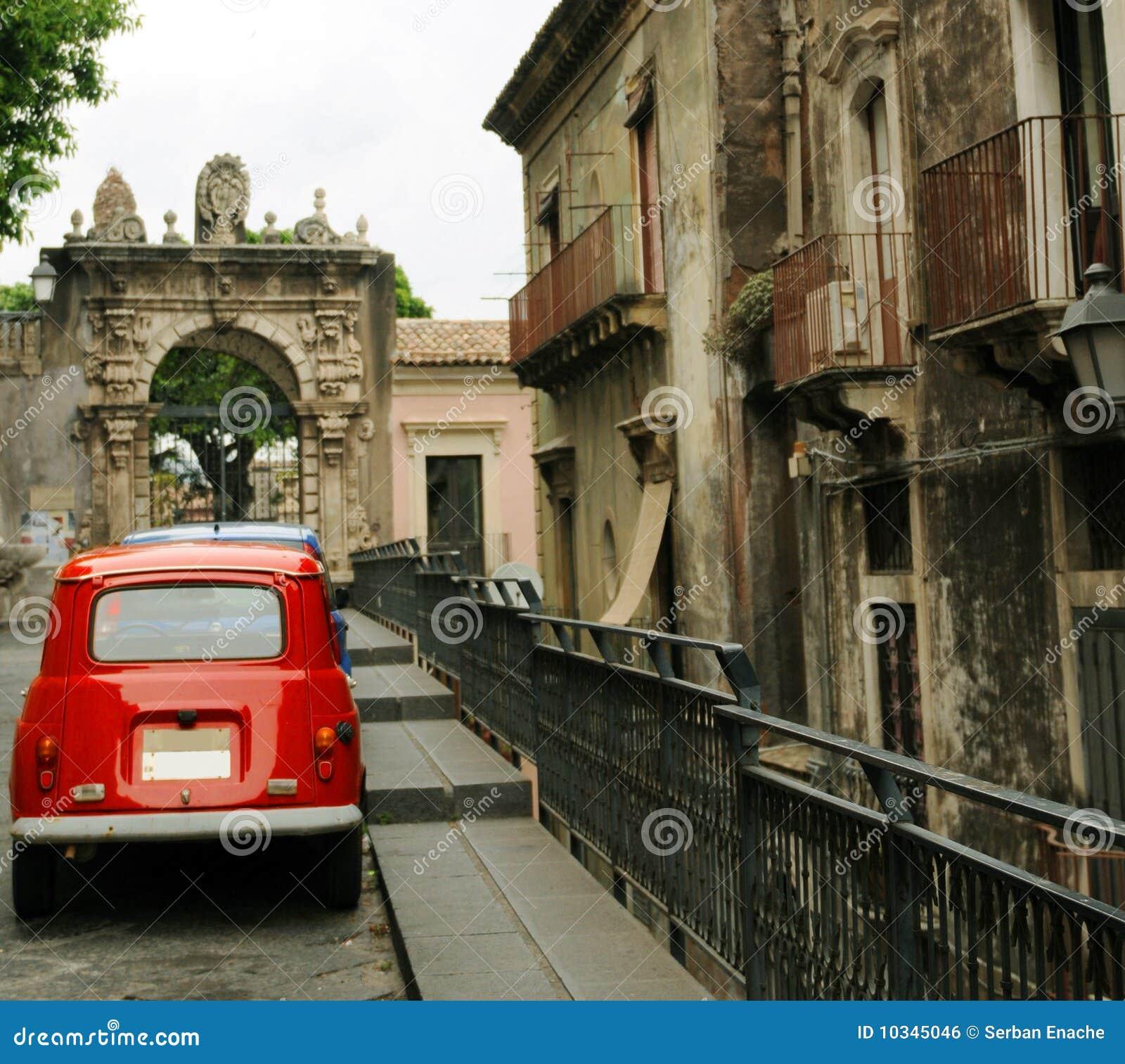 Catania street scene