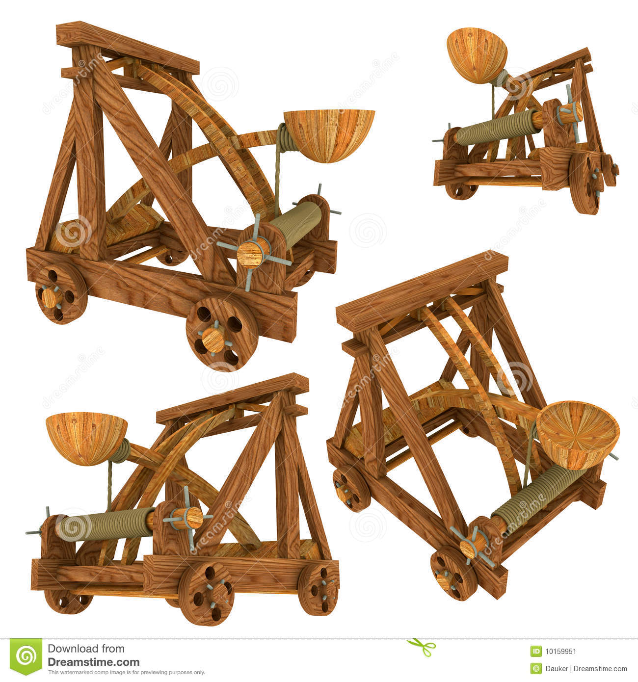 Catapult (Medieval) Stock Image - Image: 10159951