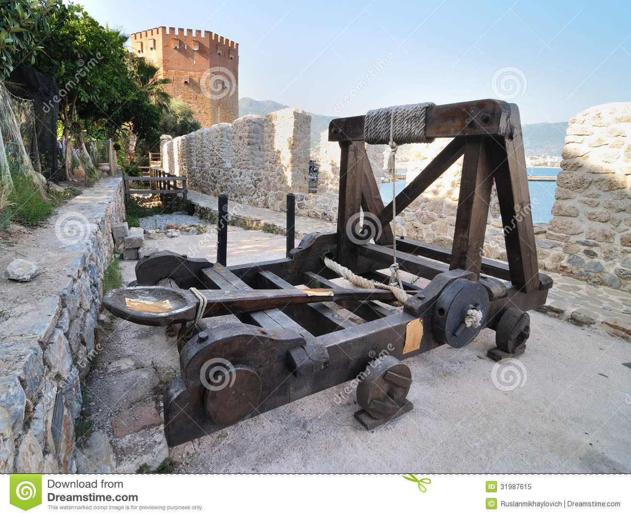 how to make a medieval catapult