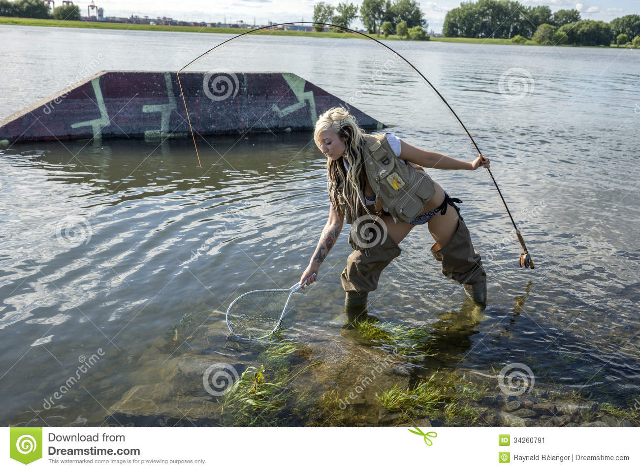 Catch fish stock image image 34260791 for Fish catching net