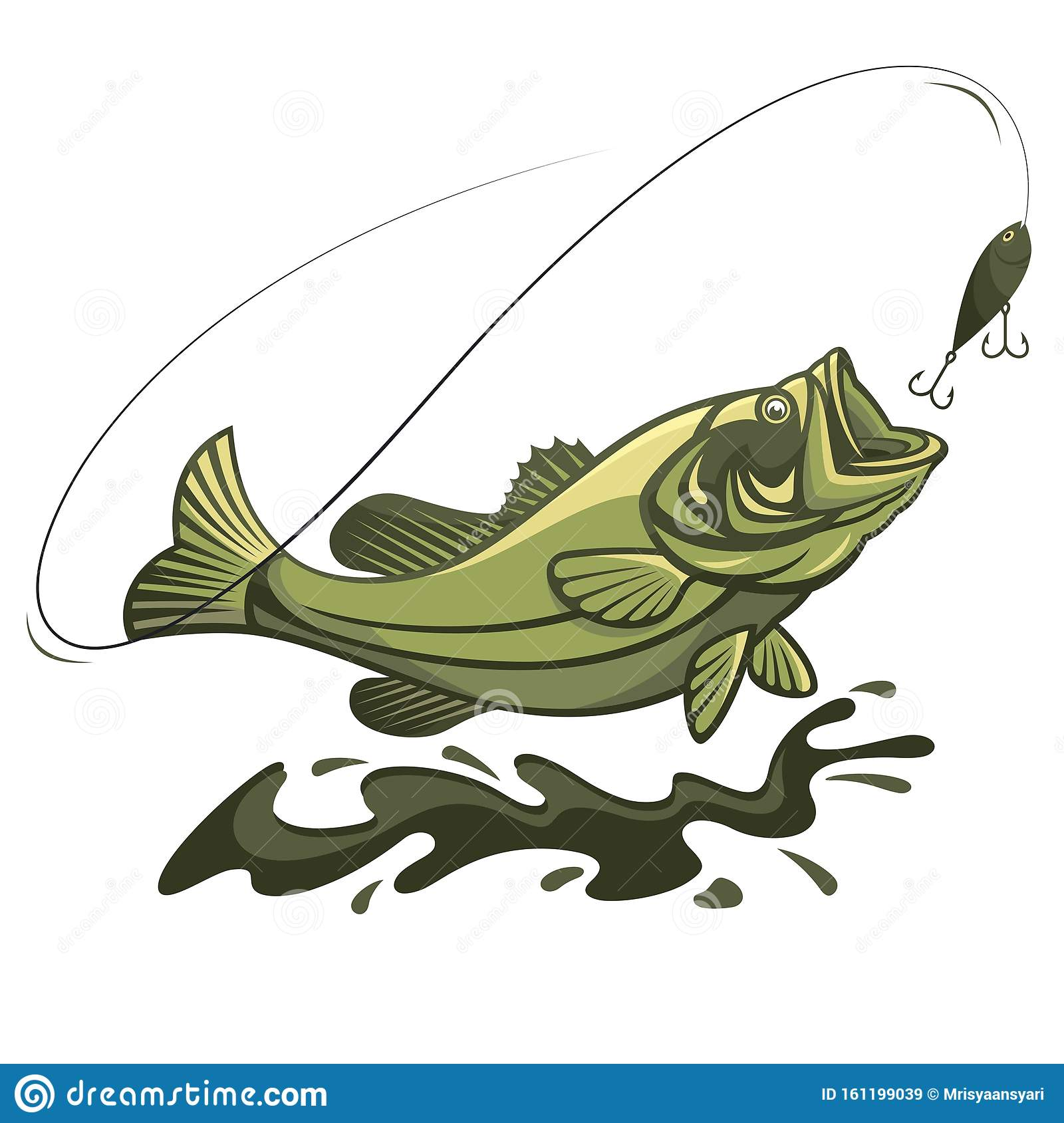 Fish Fishing Hook Bait Sport Lure Catch Li - Fish Hook And Fish - Free  Transparent PNG Clipart Images Download