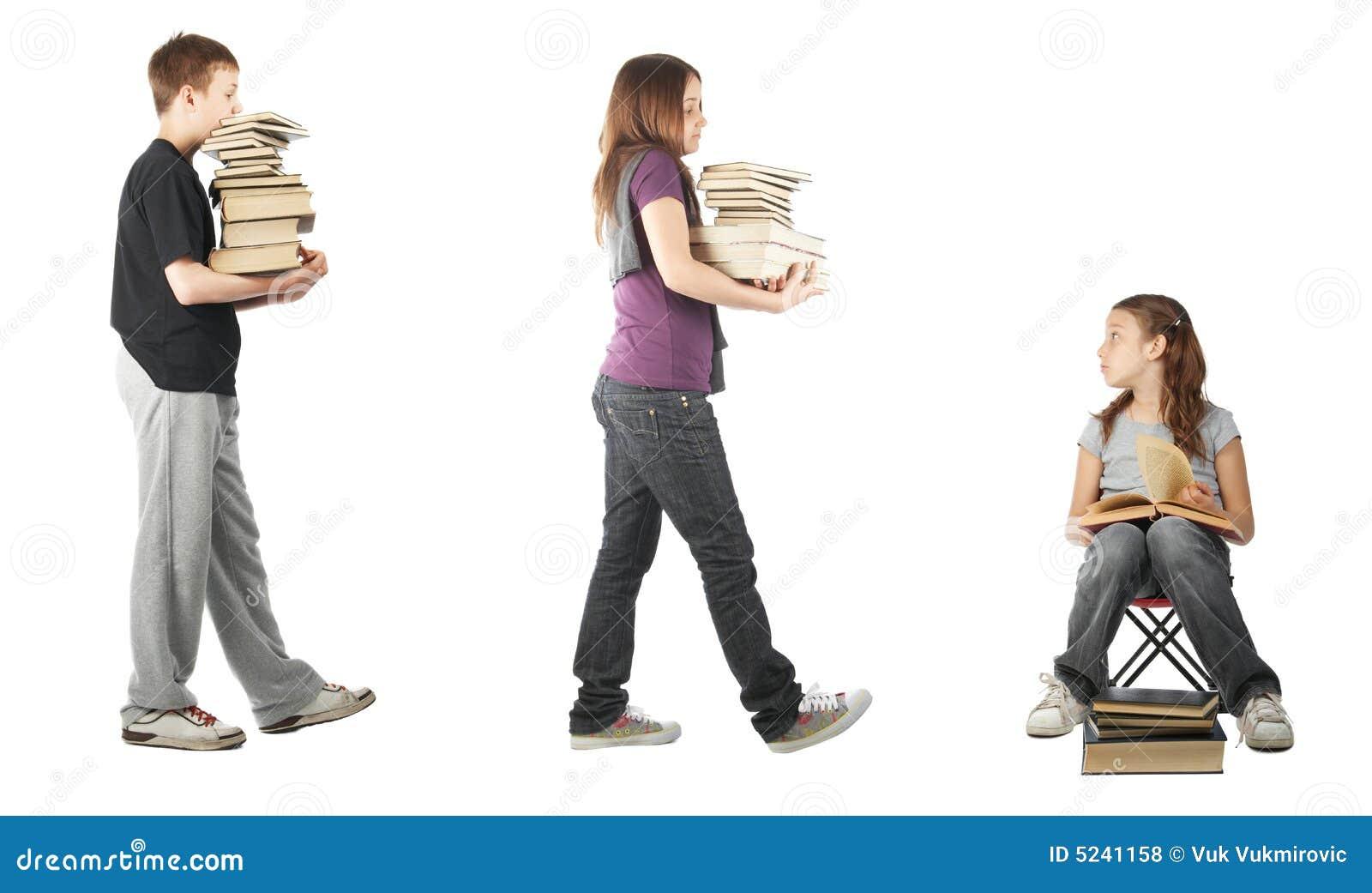 Catching up on homework