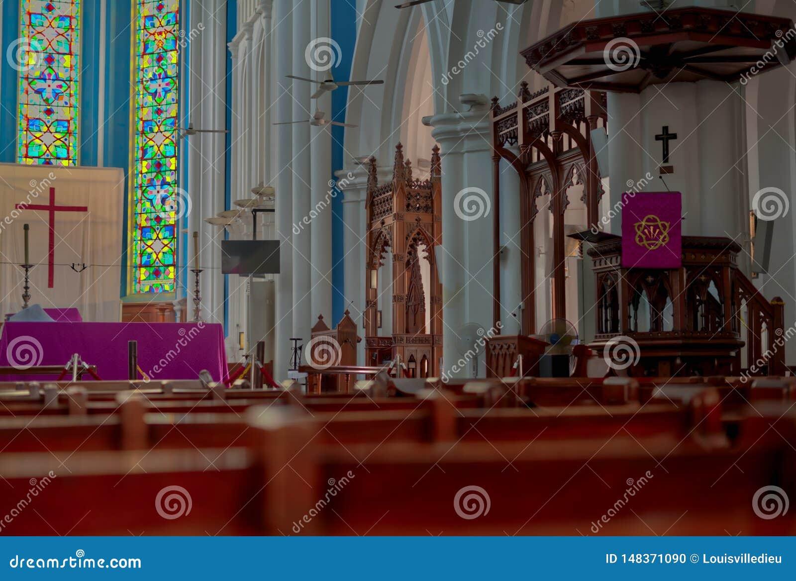 Catedral anglicana Singapura de St Andrew s