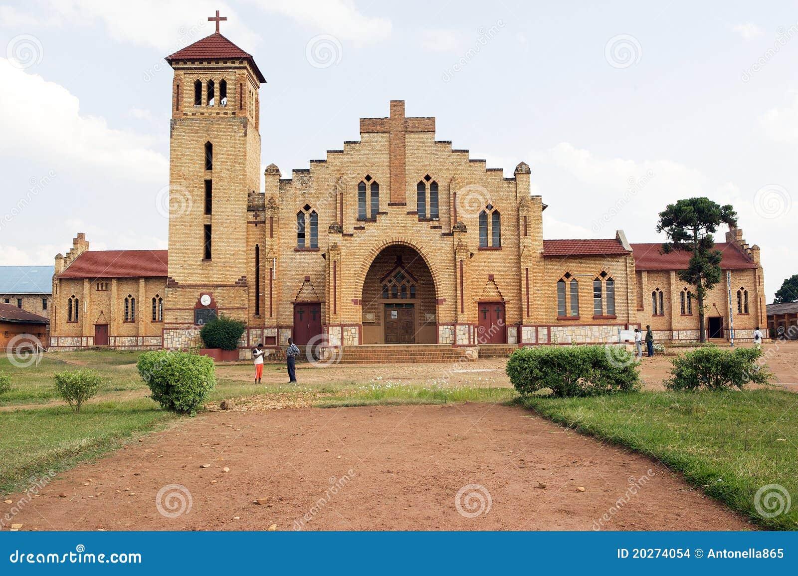 Catedral cristiana en Butare (Huye)