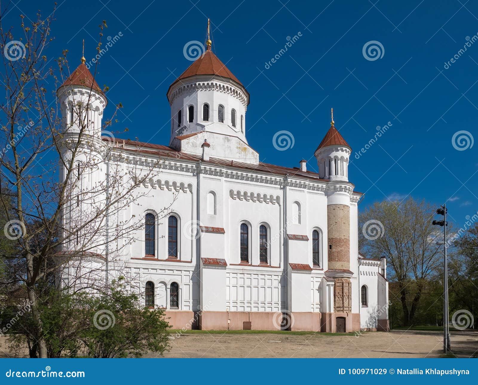 Catedral da mãe pura do deus Vilnius, Lithuania