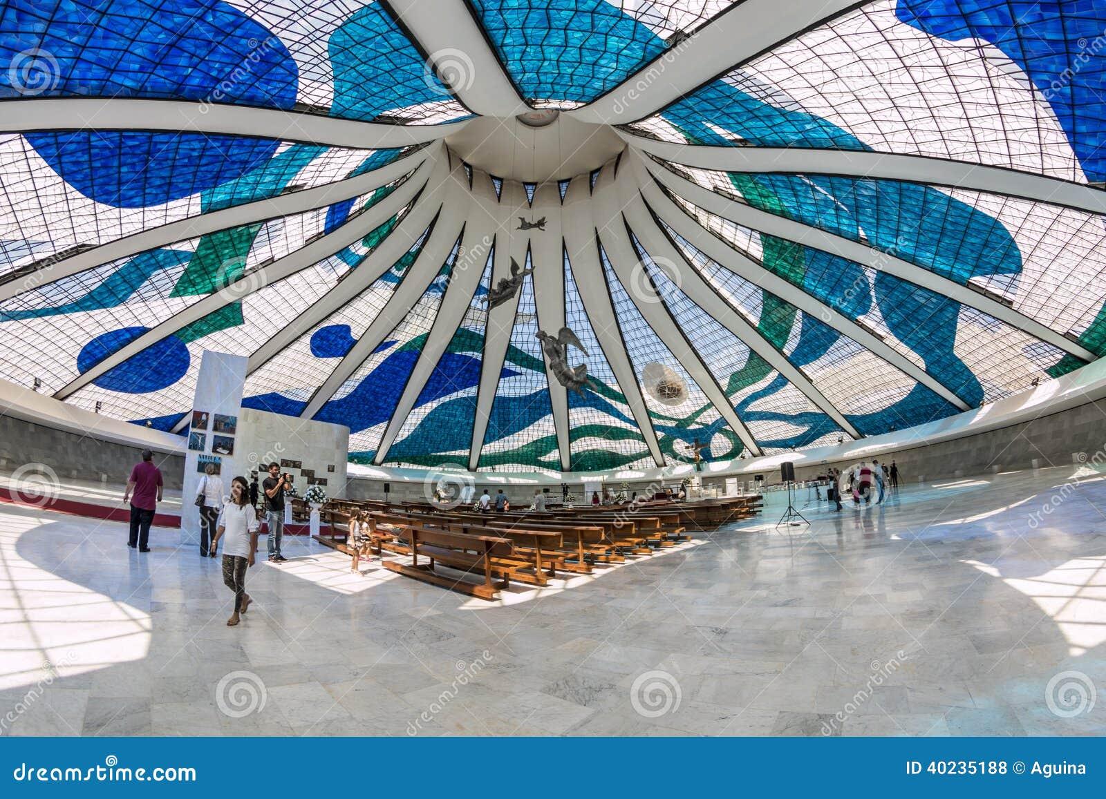 Catedral de Brasilia - Brasília - DF - el Brasil