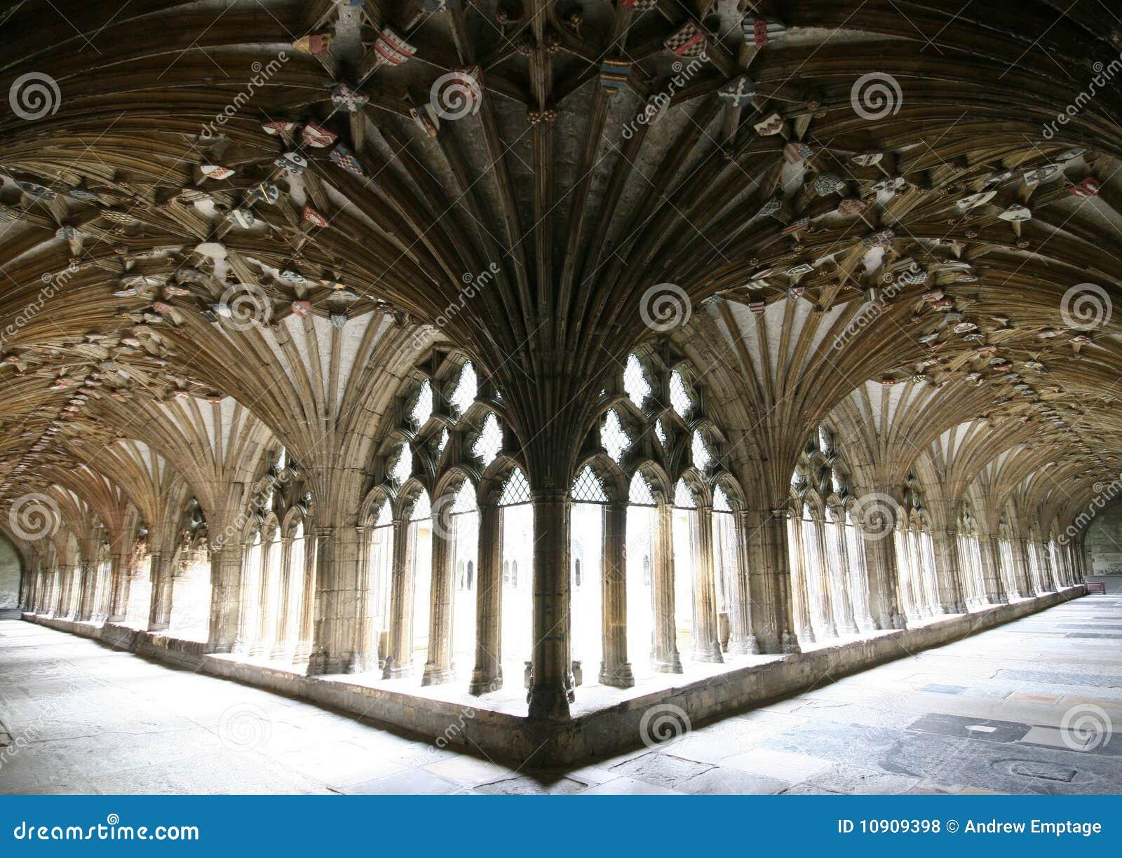 Catedral de Cantorbery, los claustros