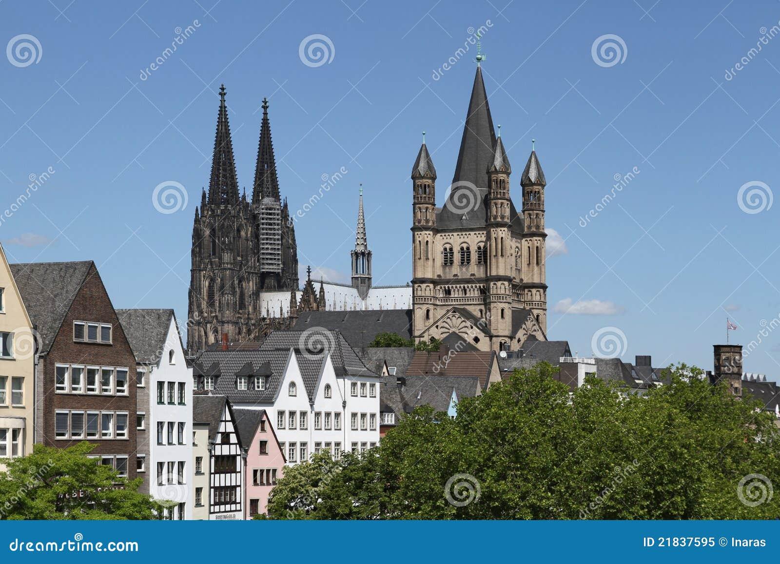 Catedral de Colónia e St. bruto Martin
