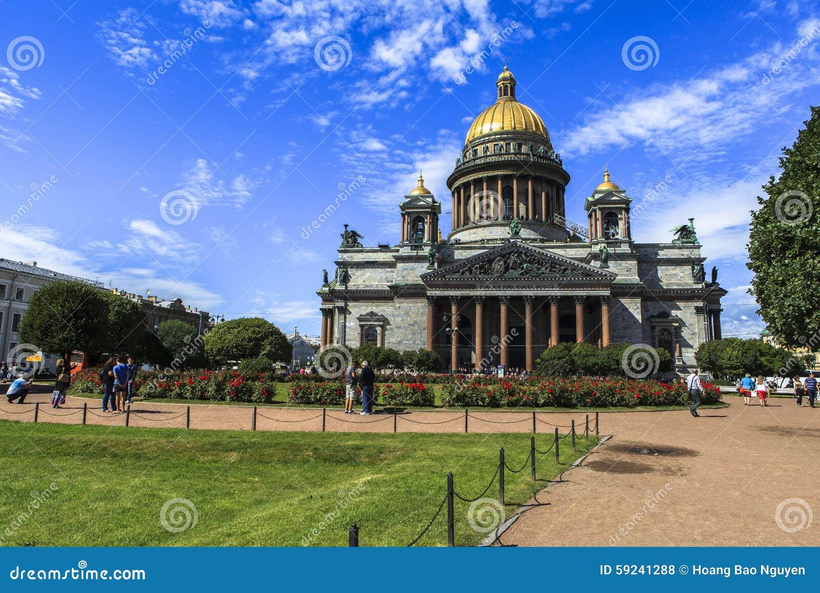 Download Catedral De Isaac Del Santo En St Petersburg Foto de archivo editorial - Imagen de festival, animal: 59241288