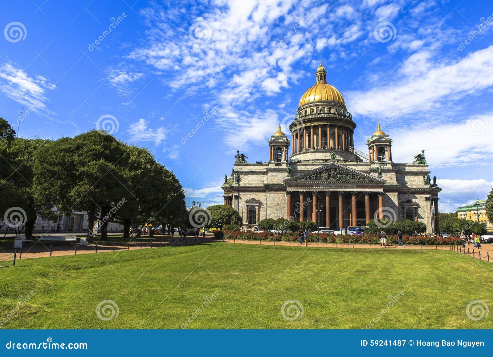 Download Catedral De Isaac Del Santo En St Petersburg Imagen de archivo - Imagen de azul, dios: 59241487