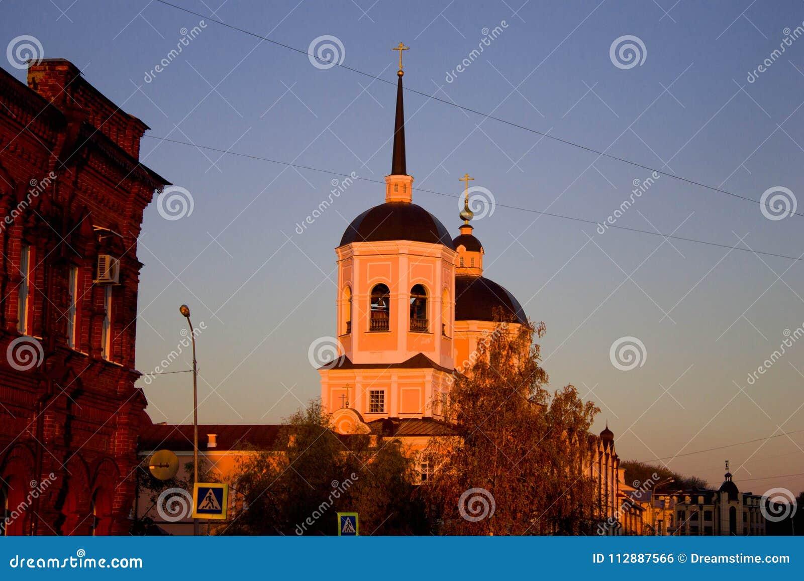 Catedral de la epifanía en Tomsk