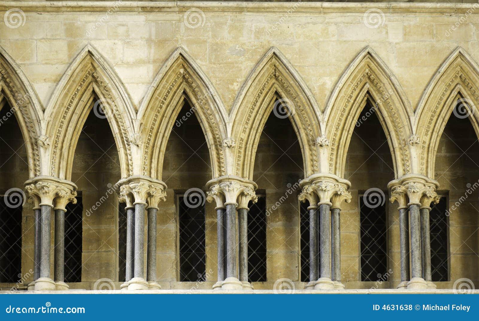 Catedral de lincoln da colunata