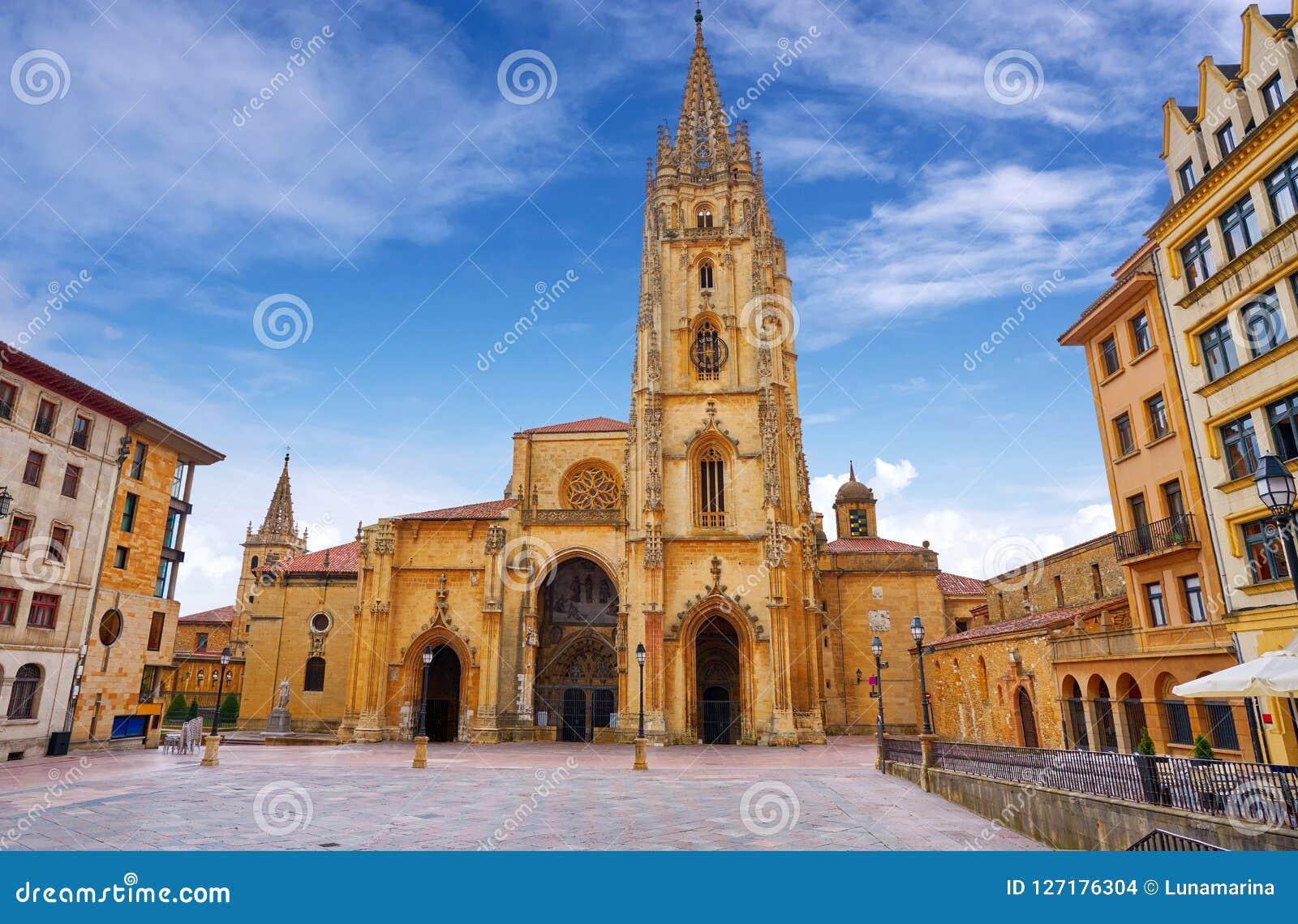 Catedral de Oviedo en Asturias España