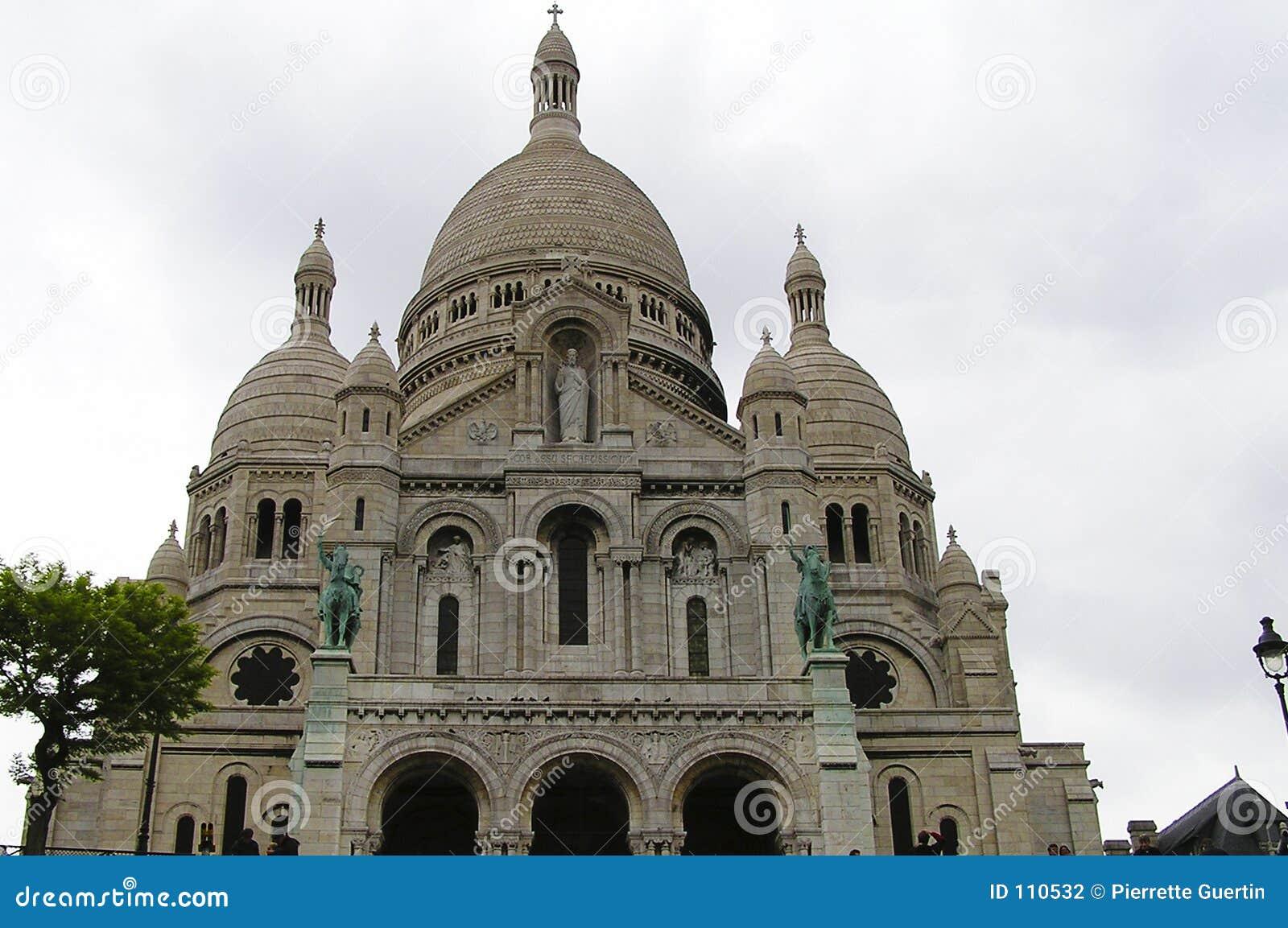 Catedral de Sacre Coeur, Montmartre, Paris