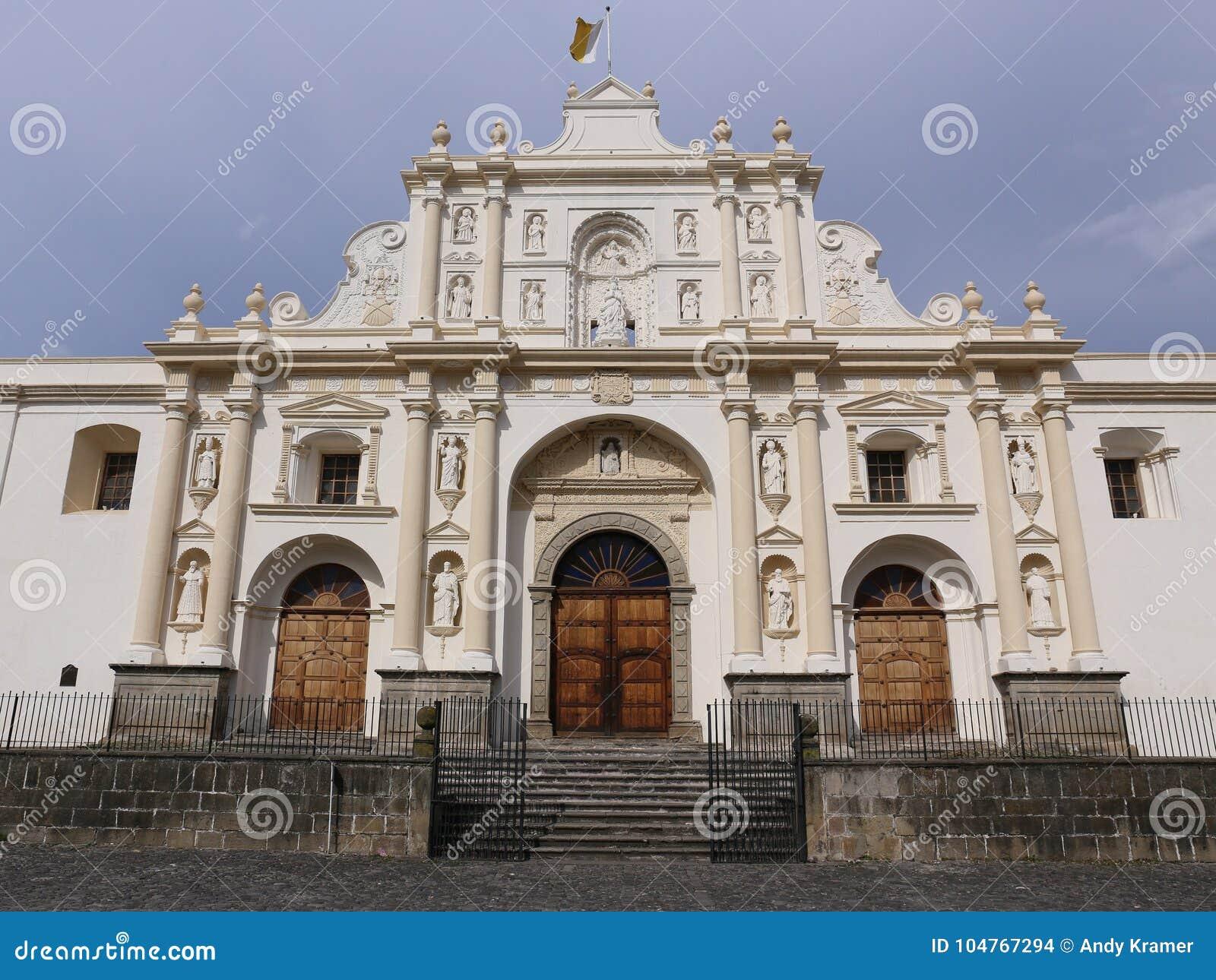 Catedral de San Jose em Antígua, Guatemala
