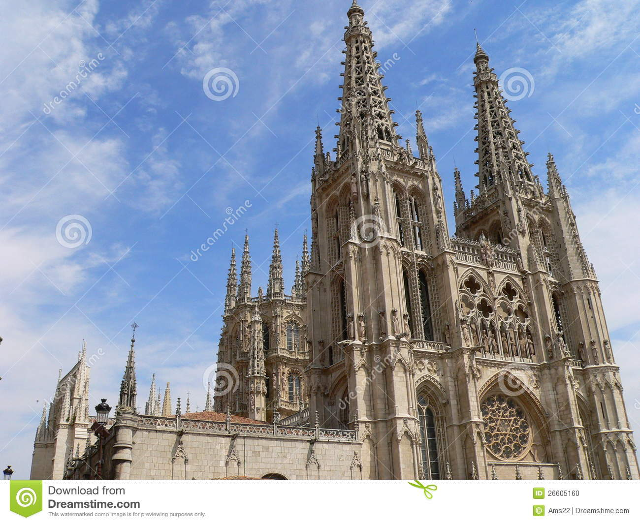 Catedral De Santa Maria La Mayor, Burgos (Spain) Stock ...