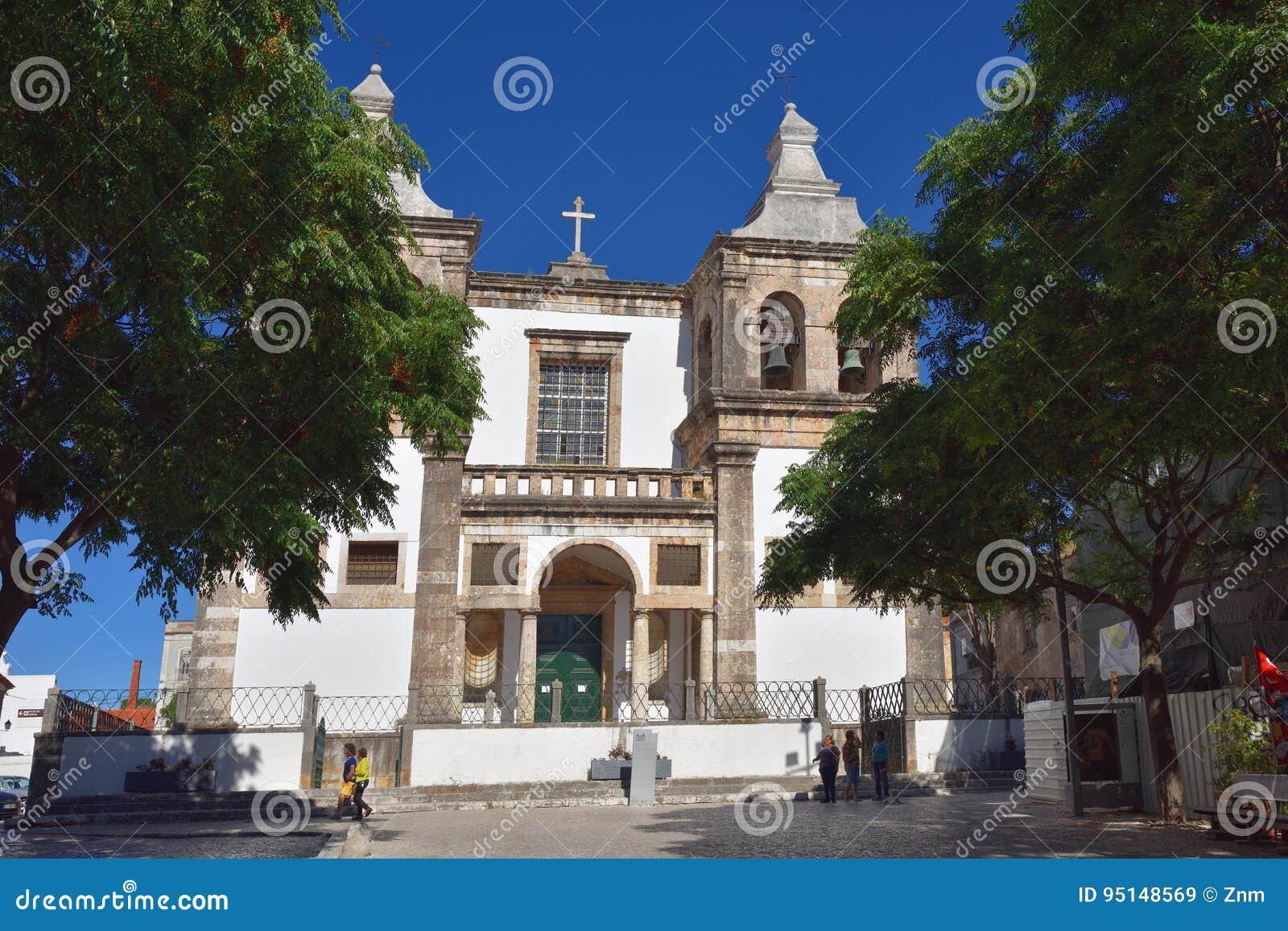 Catedral de Setubal, St Mary de Grace portugal