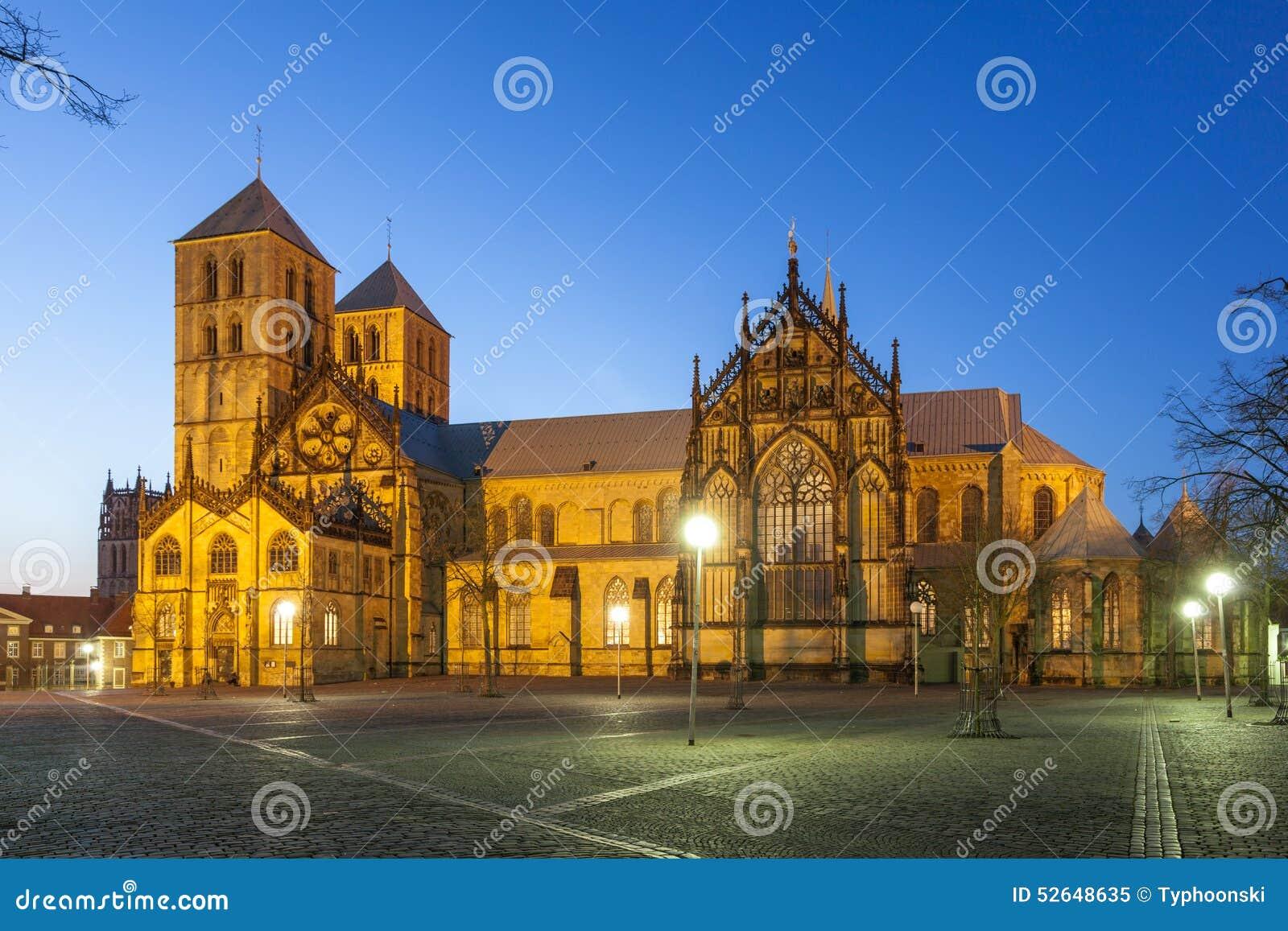 A catedral de St Paul em Munster, Alemanha