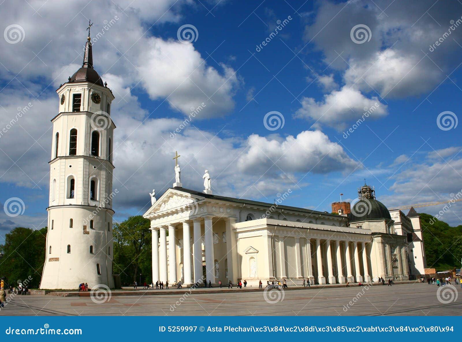 Catedral de Vilnius en Lituania