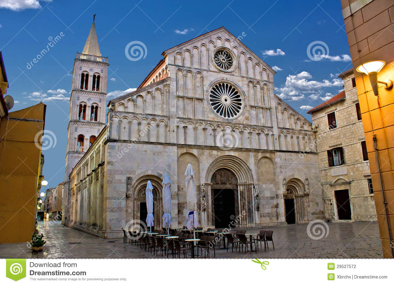 Catedral de Zadar, larga de Calle, Dalmácia
