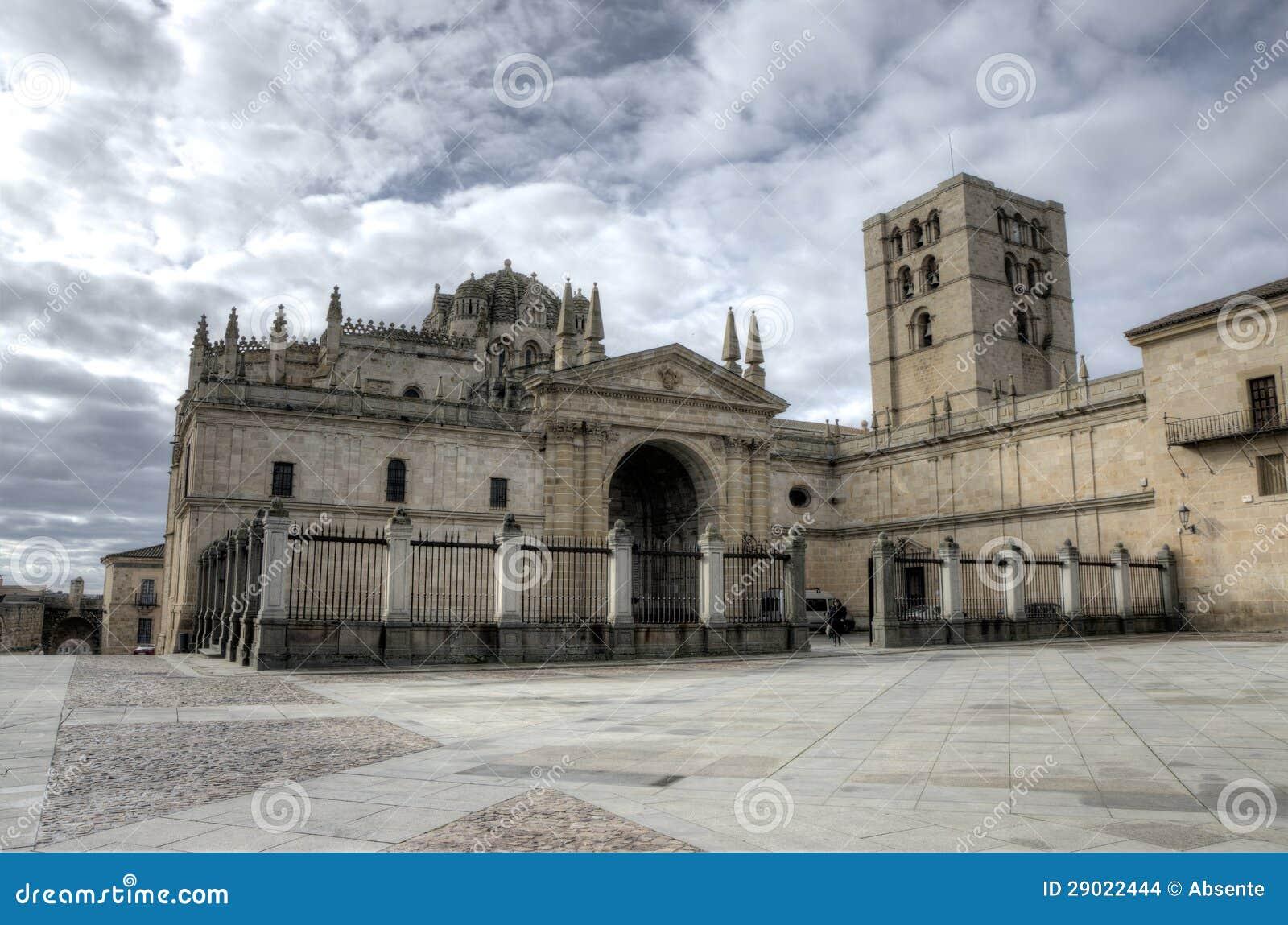 Zamora Spain  City new picture : Catedral De Zamora. Spain Imagens de Stock Imagem: 29022444