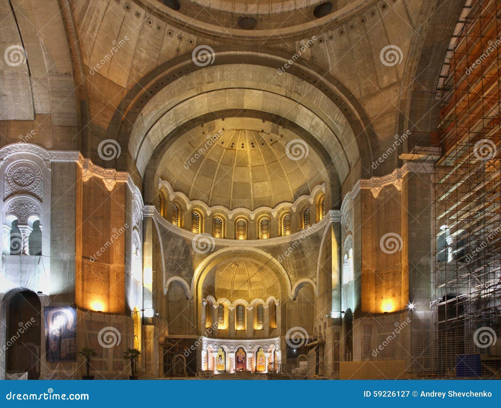 Catedral del santo Sava en Belgrado serbia