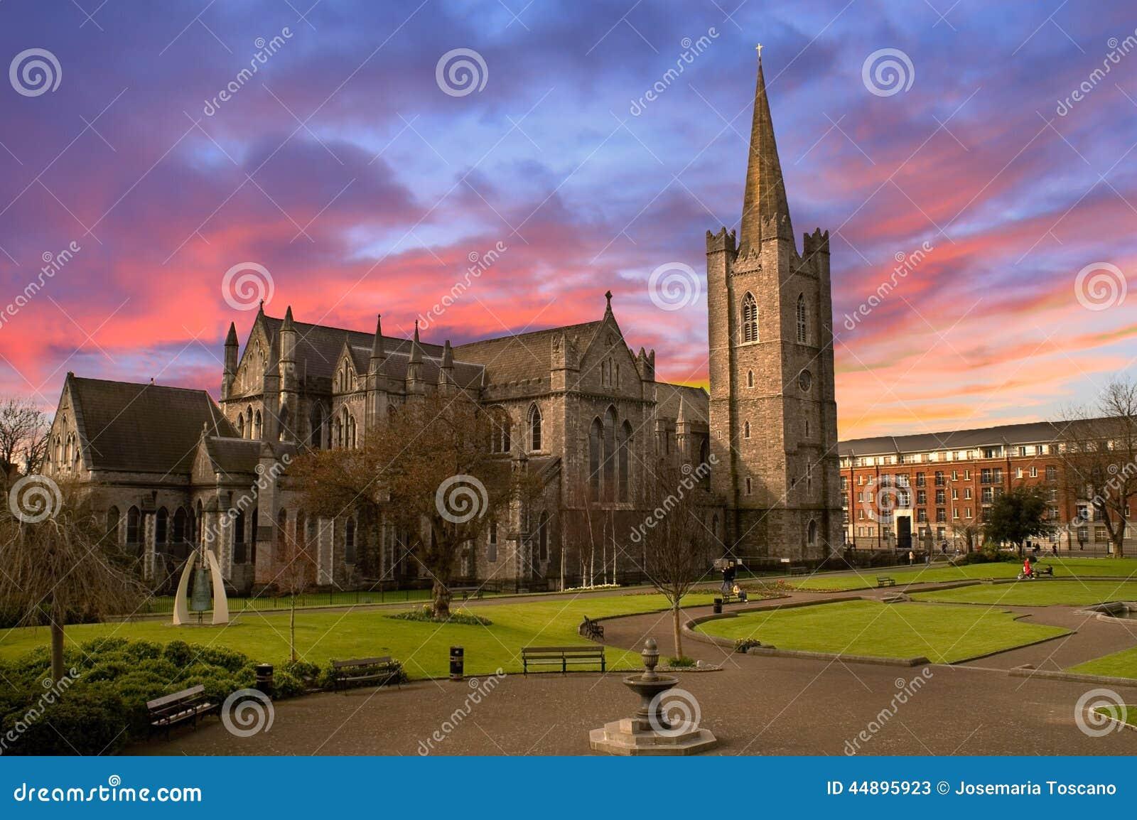Catedral del St Patrick en Dublín, Irlanda