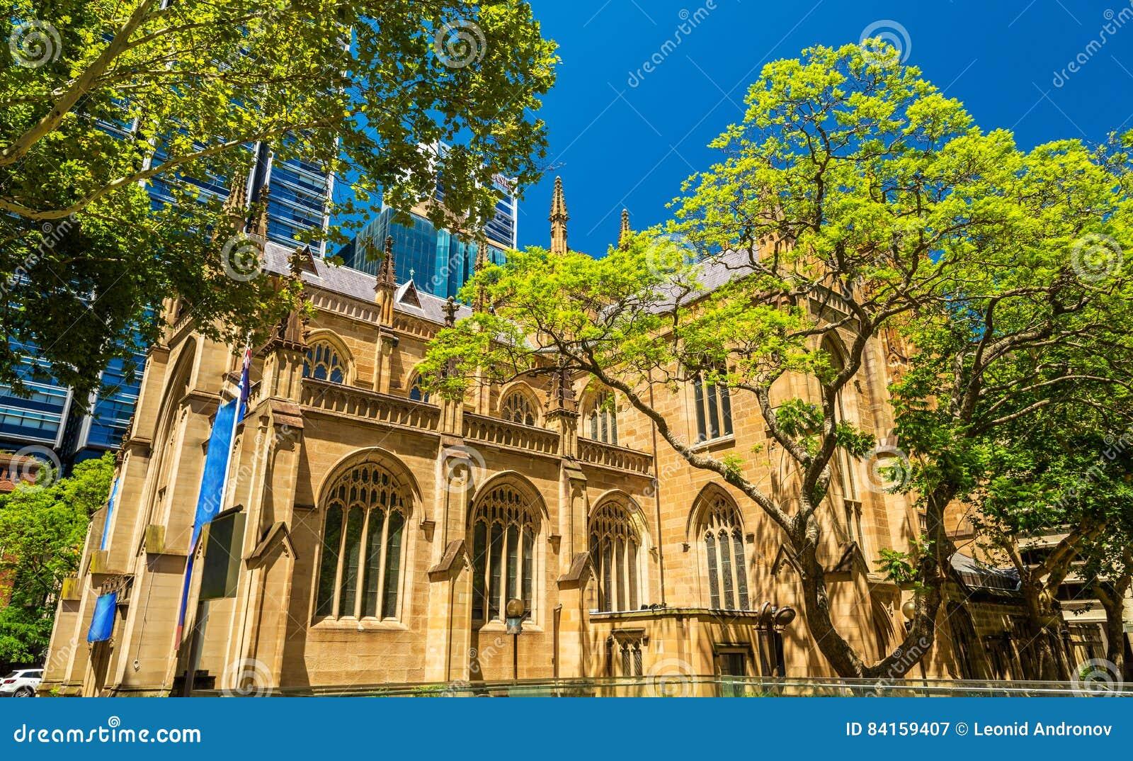 Catedral do ` s de St Andrew em Sydney, Austrália