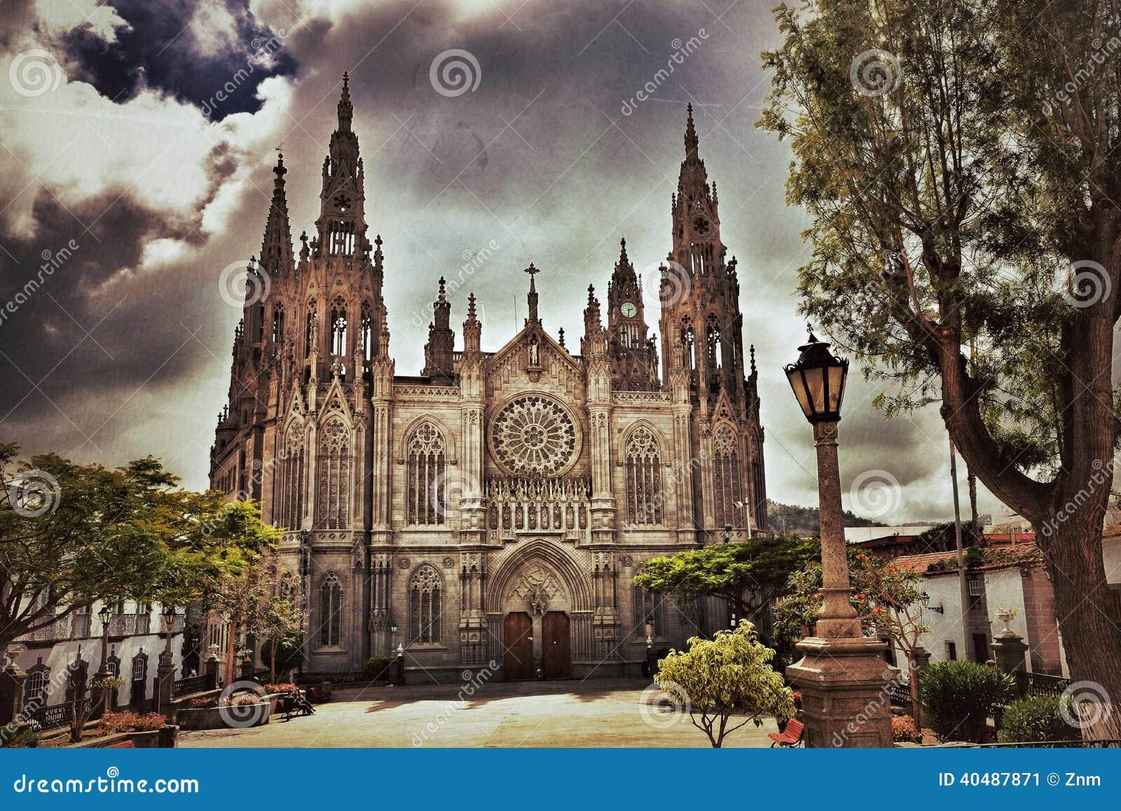 Catedral en Arucas, Gran Canaria