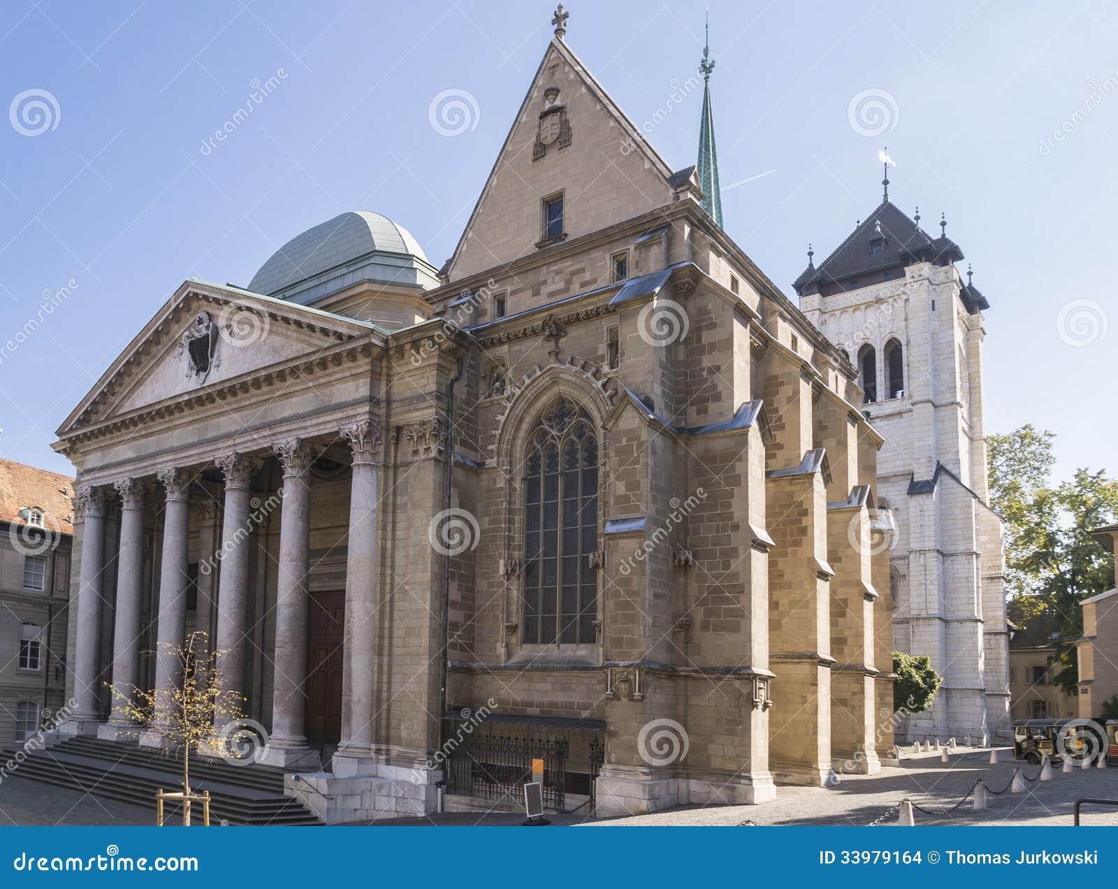 Catedral en Ginebra