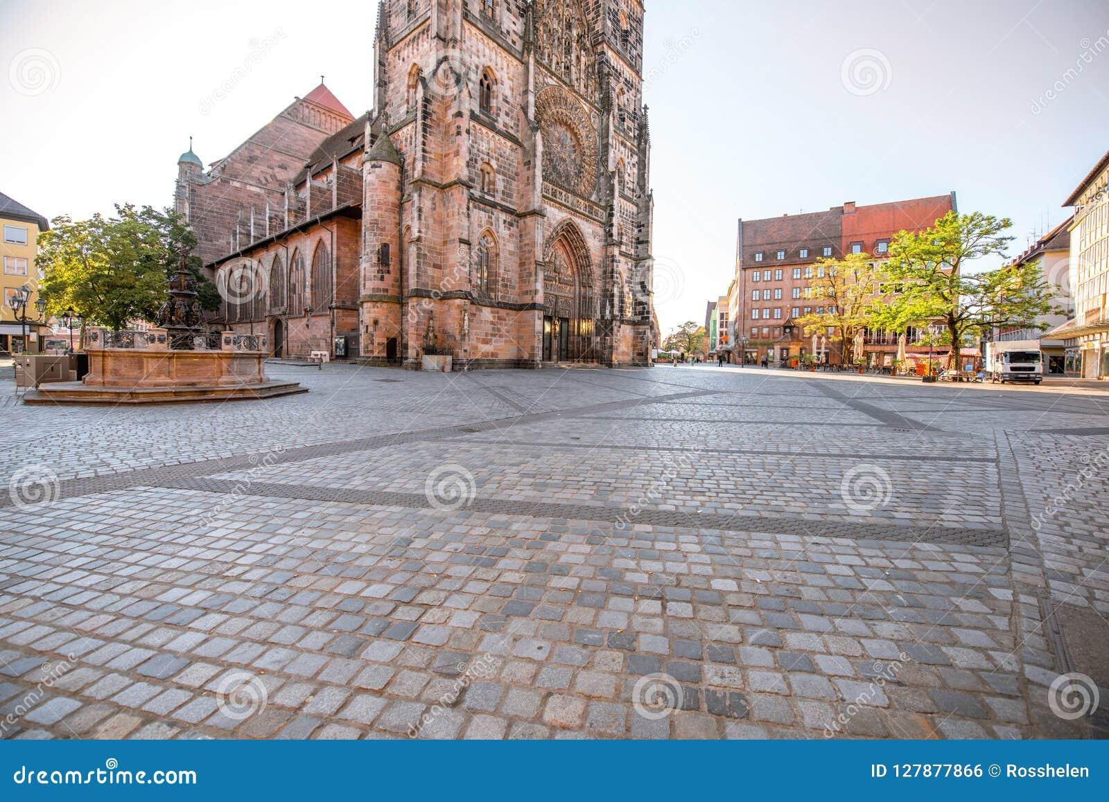 Catedral en Nurnberg, Alemania