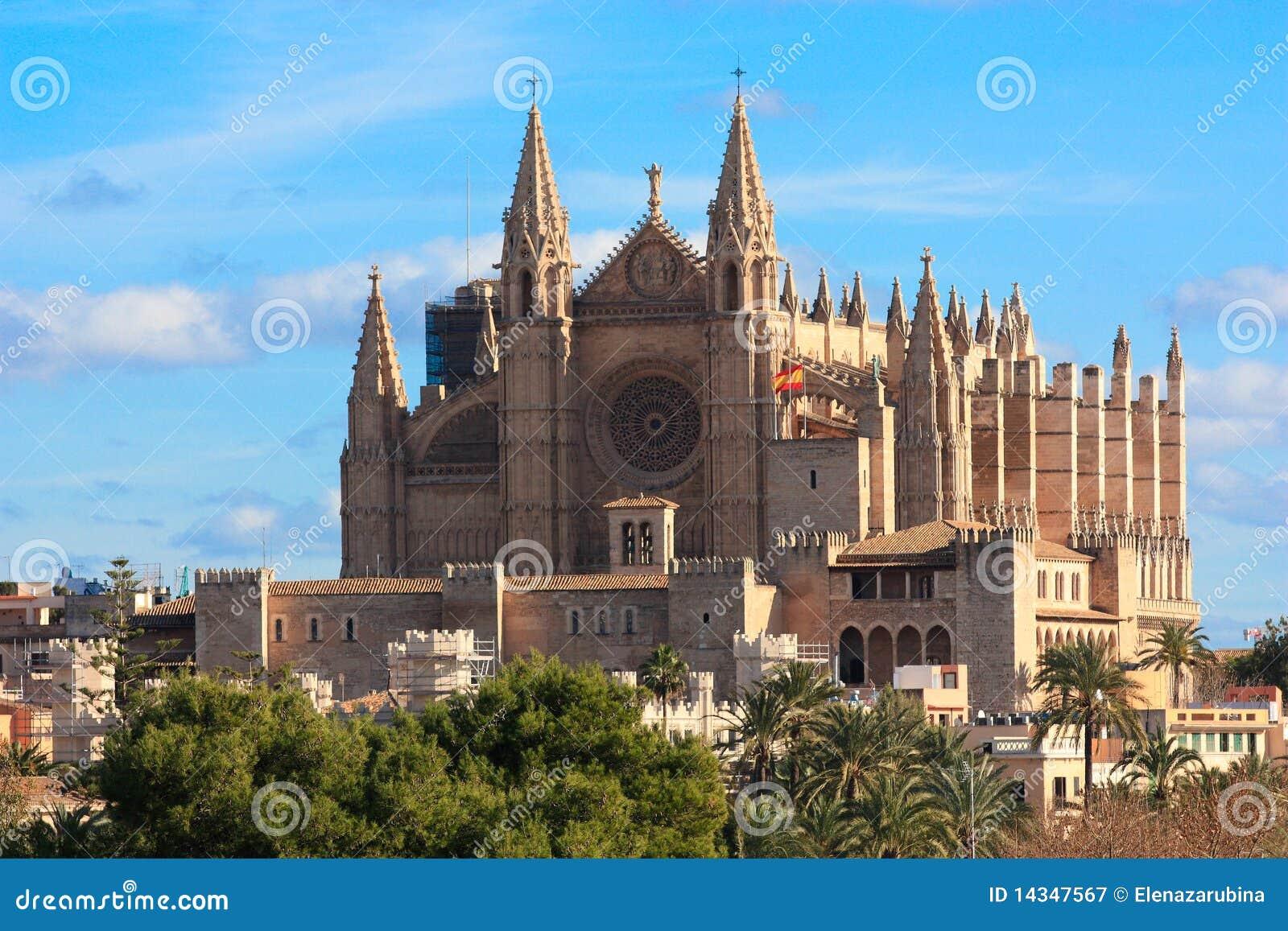 Catedral en palma de mallorca fotograf a de archivo libre - En palma de mallorca ...