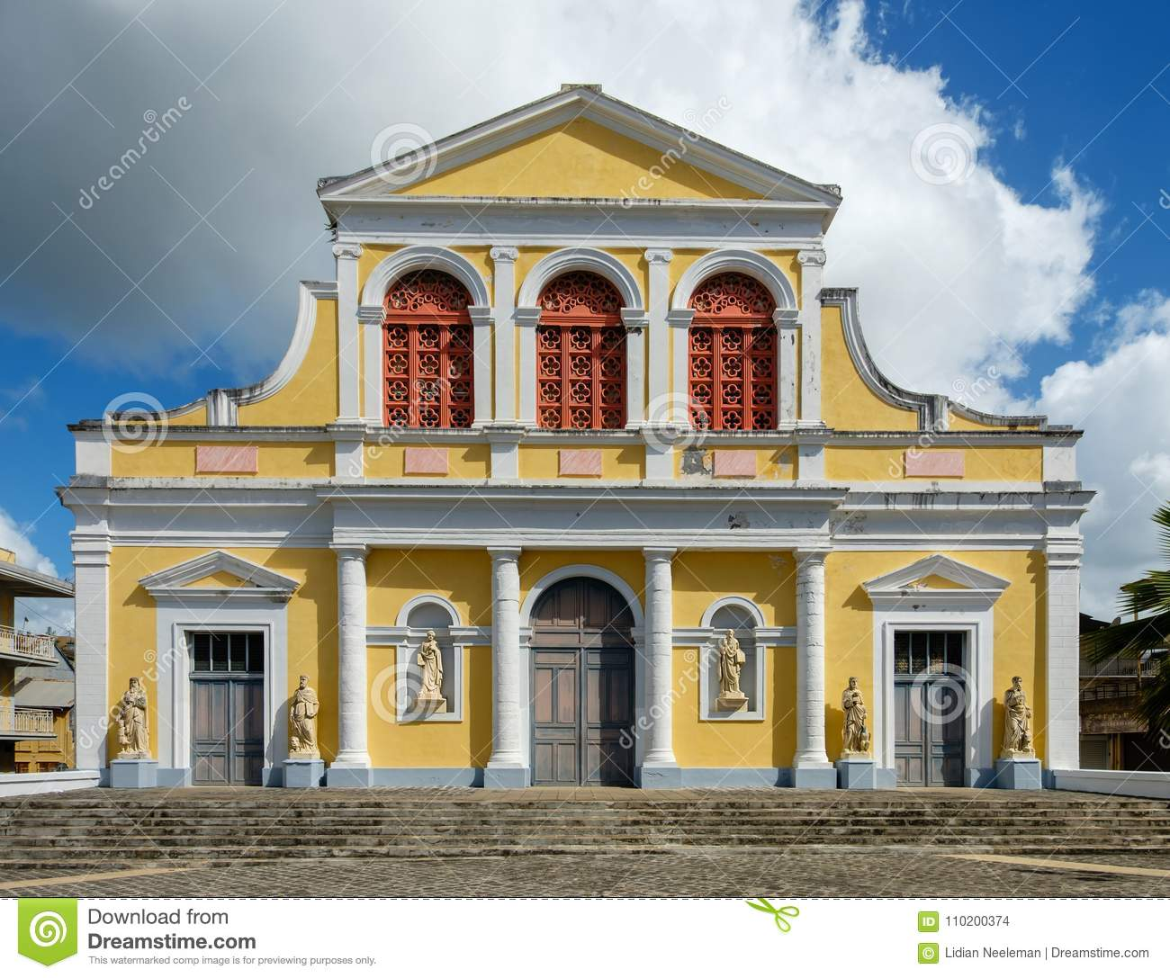 Catedral en Pointe-A-Pitre - Guadalupe