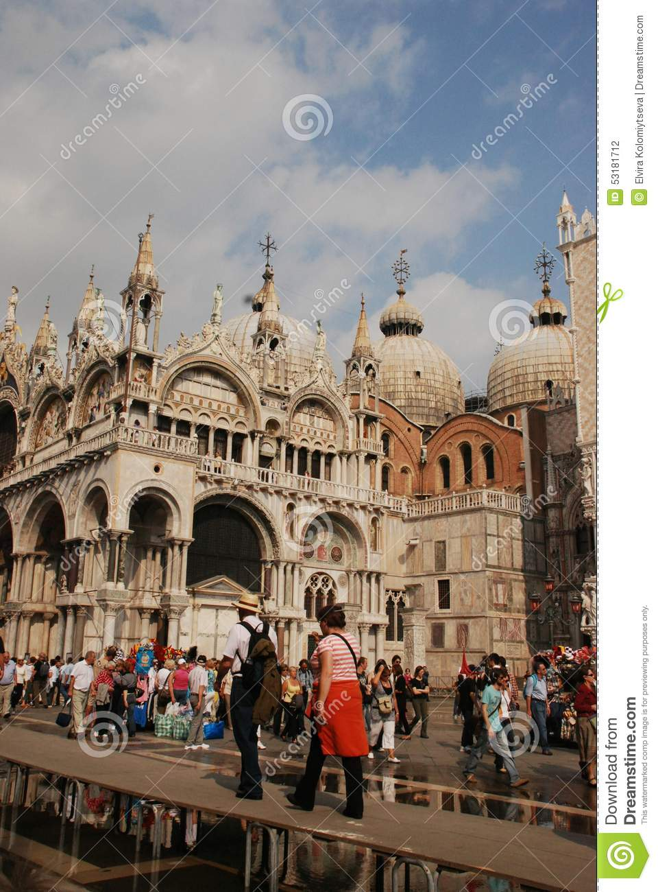 Catedral hermosa San Marco